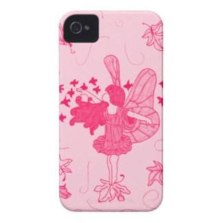 Fall Fairy iPhone 4 Case (Pink)