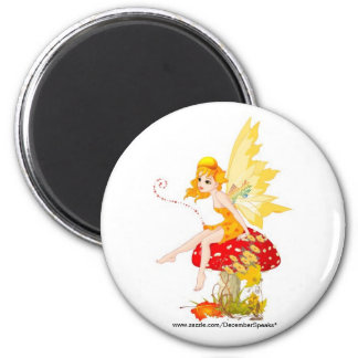 Fall fairy magnet