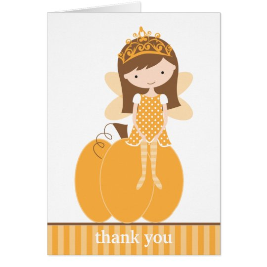 Fall Fairy Princess Note Cards