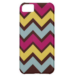 Fall Fashion Chevron Pattern Cover For iPhone 5C