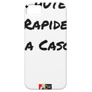 FALL FAST OF the CASCADE - Word games iPhone 5 Cover