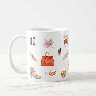 Fall Favorites Mug, Fall Essentials Mug, Fall Mug