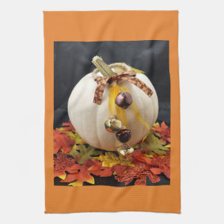 Fall Festive Pumpkin Kitchen Towel