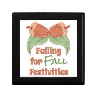 Fall Festivities Jewelry Box
