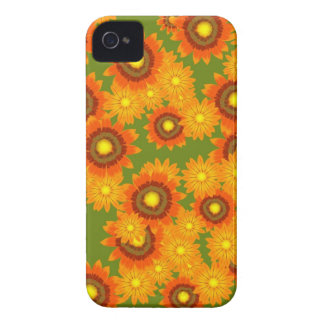 Fall Floral Blossoms iPhone 4 Case