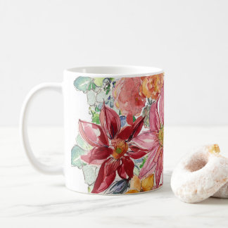 Fall Floral Coffee Mug