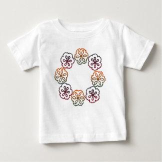 Fall Flowers Baby T-Shirt