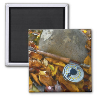 Fall Fly Fishing Rod Magnets