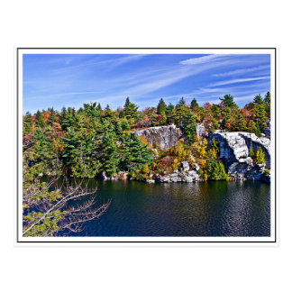 Fall Foliage around Lake Minnewaska Postcard