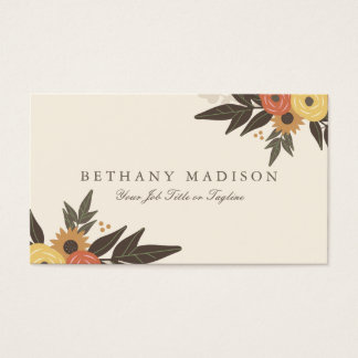 Fall Foliage Business Cards