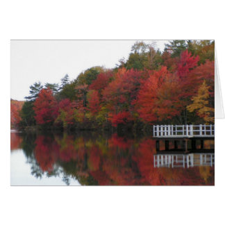 Fall Foliage Card