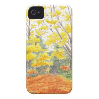Fall Foliage in Adlershof iPhone 4 Cover