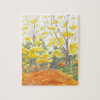 Fall Foliage in Adlershof Jigsaw Puzzle