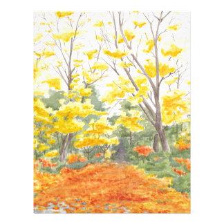 Fall Foliage in Adlershof Letterhead