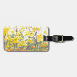 Fall Foliage in Adlershof Luggage Tag