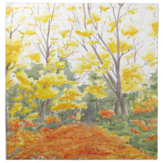 Fall Foliage in Adlershof Napkin