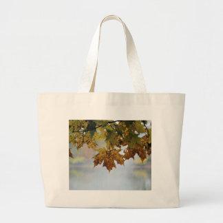 Fall Foliage Large Tote Bag