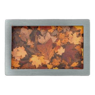 Fall-foliage Rectangular Belt Buckle