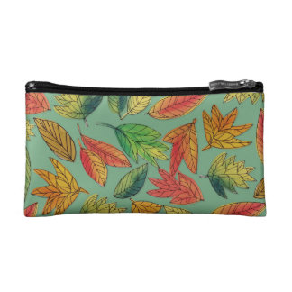 Fall Foliage Watercolor Pattern Bag