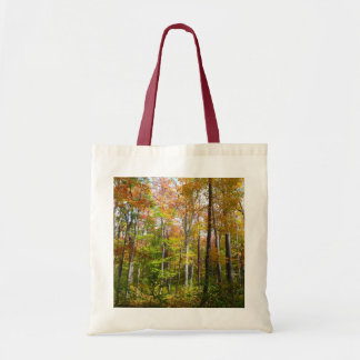 Fall Forest I Autumn Landscape Photography Tote Bag