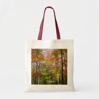 Fall Forest II Autumn Landscape Photography Tote Bag