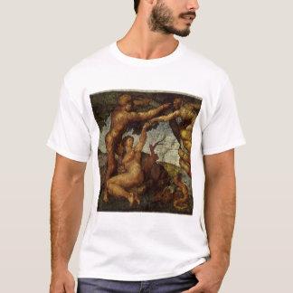 Fall from the Garden of Eden by Michelangelo T-Shirt