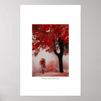 Fall girl poster