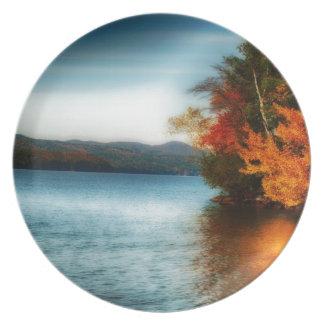 Fall Glow Plate