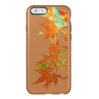 Fall Gold Japanese Maple Leaves Garland Incipio Feather® Shine iPhone 6 Case