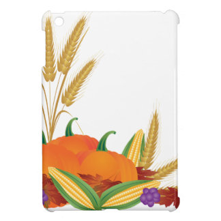 Fall Harvest Illustration iPad Mini Case