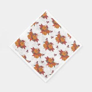Fall Harvest Paper Napkins