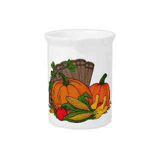 Fall Harvest Pitcher