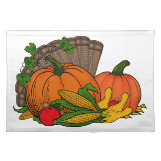Fall Harvest Placemat
