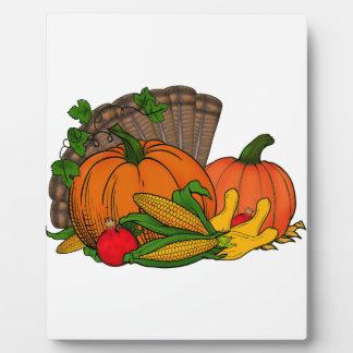 Fall Harvest Plaque