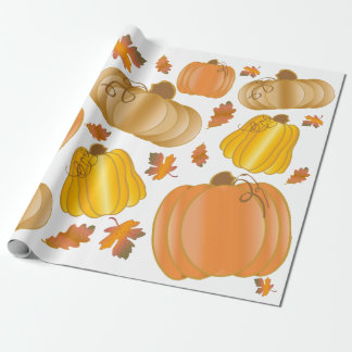 Fall Harvest Wrapping Paper