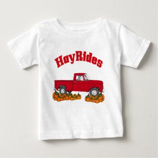fall hay rides baby T-Shirt