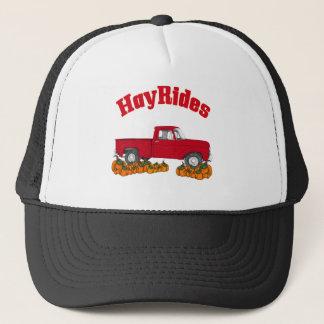fall hay rides trucker hat