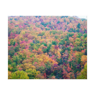 Fall Hillside Gallery Wrapped Canvas