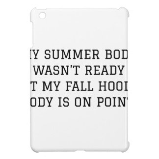 Fall Hoodie Body Cover For The iPad Mini