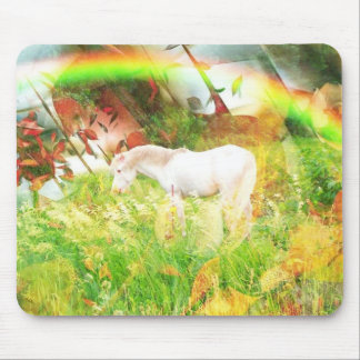 Fall Horse Mouse Pad