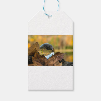 Fall in a ball gift tags