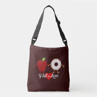 Fall in Love Apple Donut Bag