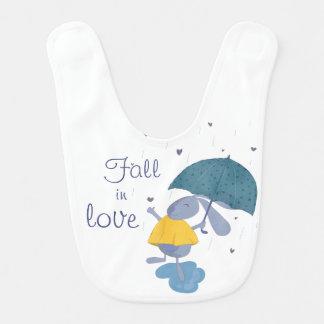 Fall in Love Bib