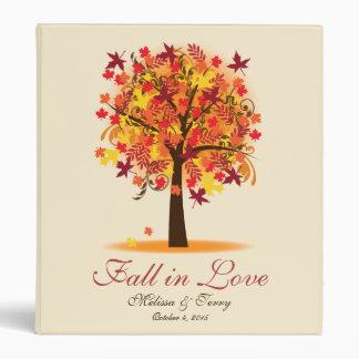 Fall in Love Bridal Shower Wedding Vinyl Binders