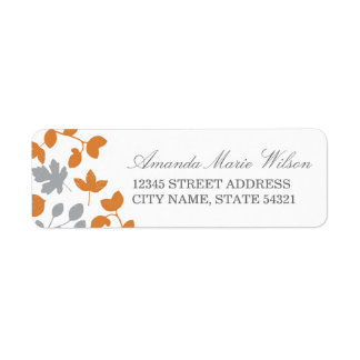Fall in Love Return Address Labels
