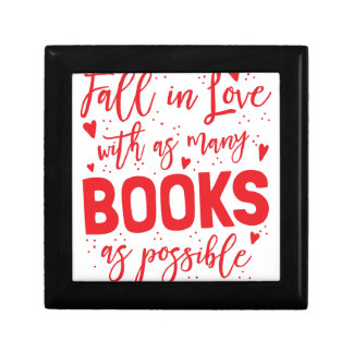 fall in love with books as possible gift box