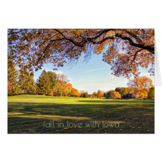Fall in Love with Iowa Cards