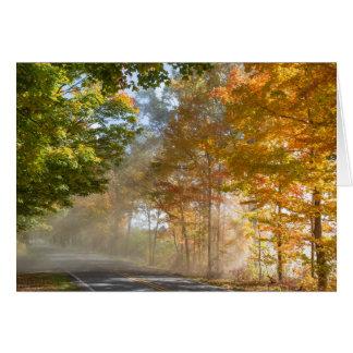 Fall in Michigan Card