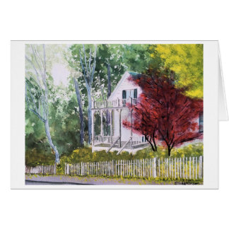 FALL IN NEVADA CITY CARD