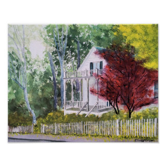 FALL IN NEVADA CITY POSTER